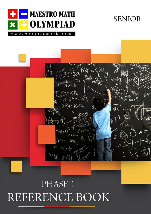 Maestro Math Preliminary Level Reference Book – Senior Category