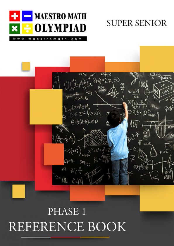 Maestro Math Preliminary Level Reference Book – Super Senior Category
